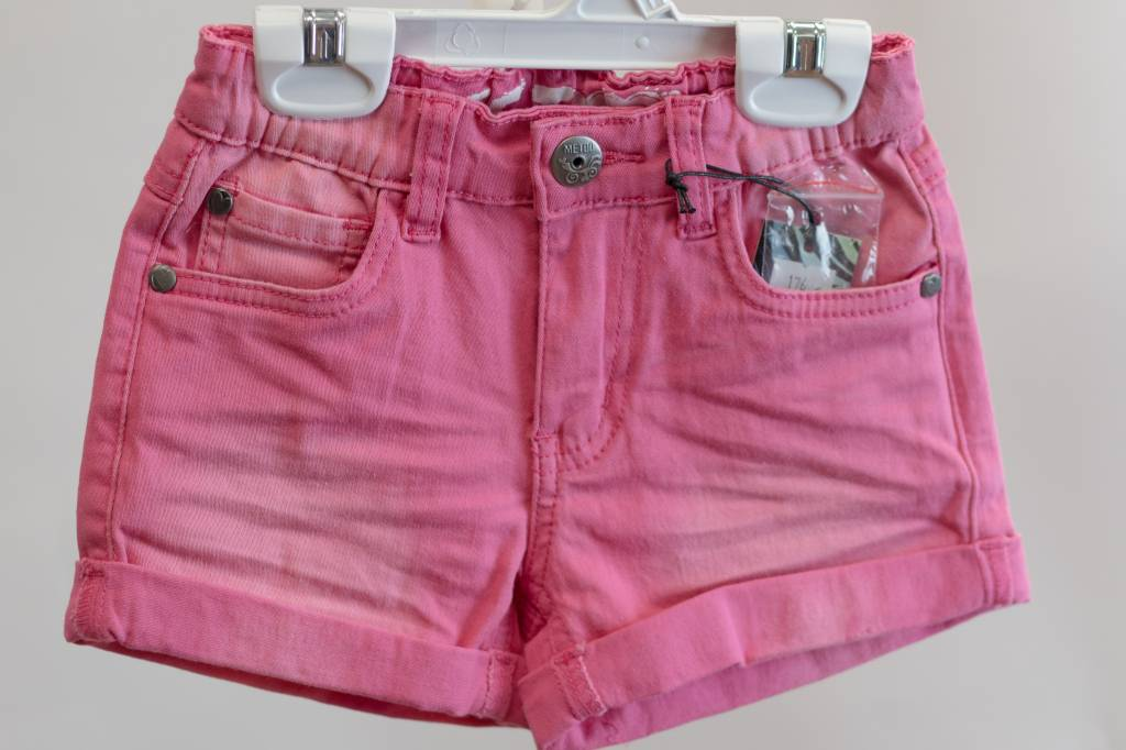 Me Too Me Too Pink Jean Shorts - The Sprouting Fawn