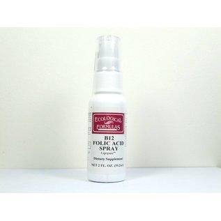 Ecological Formulas B12 Folic Acid Spray