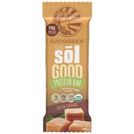 SunWarrior Sol Good Organic Protein Bar Salted Caramel