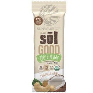 SunWarrior Sol Good Organic Protein Bar Coconut Cashew