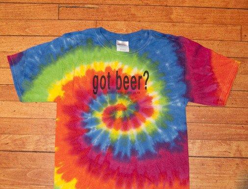 Tie Dye GOT BEER TSHIRT