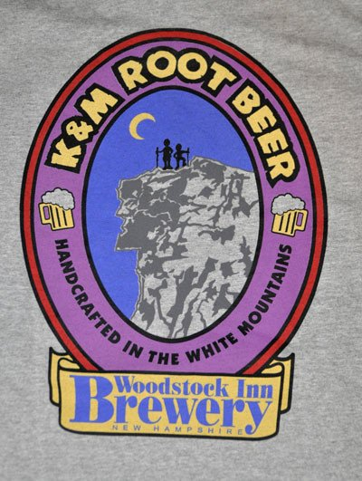 K&M Root Beer TSHIRT Gray