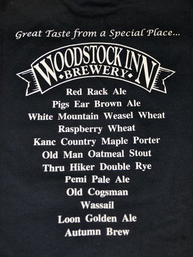 Long Sleeve Tshirt - Beer List