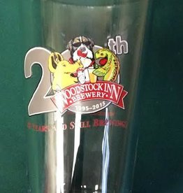 20Th  Anniversary pint  Glass