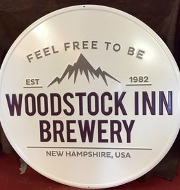 New woodstock inn logo tin sign