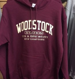 Woodstock Inn Maroon Sweatshirt Large