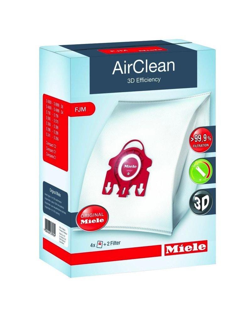 Miele Miele AirClean F/J/M Bags 4/pkg
