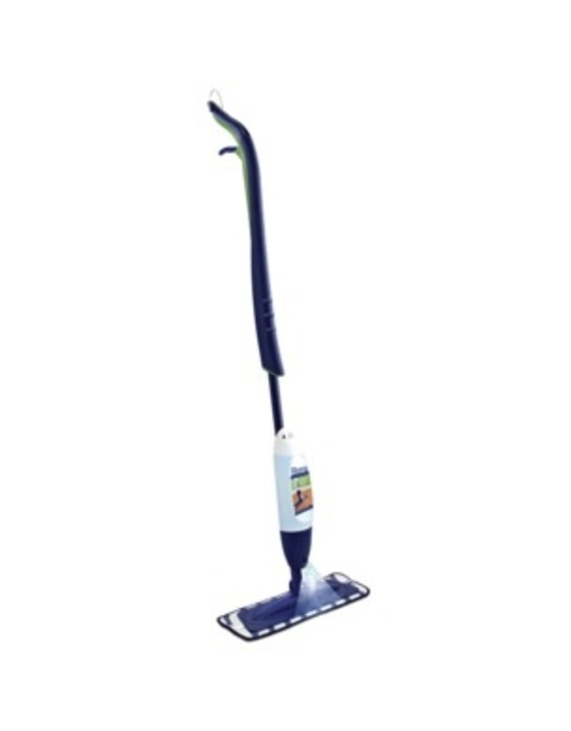 Bona A premium spray mop combo, includes Microfiber Mop and Bona Hardwood Refill Cartridge all in one! Quick, easy to use, and leaves no dulling residue.