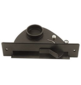 Plastiflex VacPan Sweep Inlet - Black