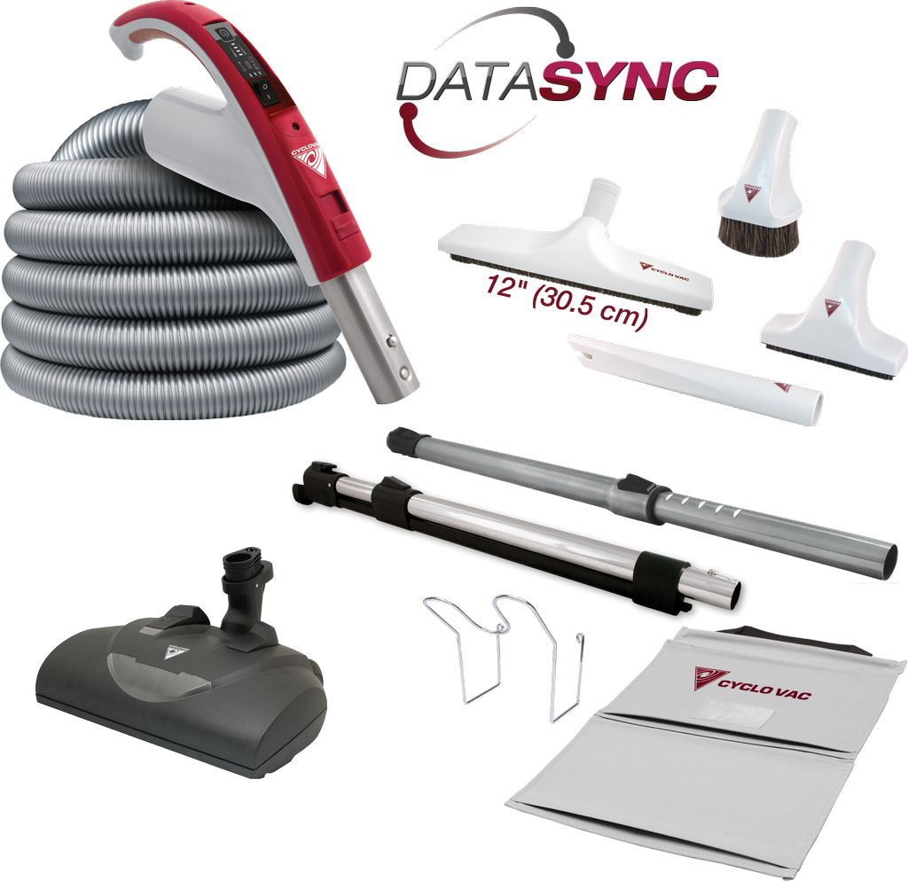 CycloVac CycloVac 35' DataSync Accessory Package with EBK360 Power Brush