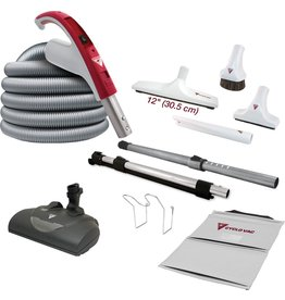 CycloVac CycloVac 30' Accessory Package with EBK360 Power Brush