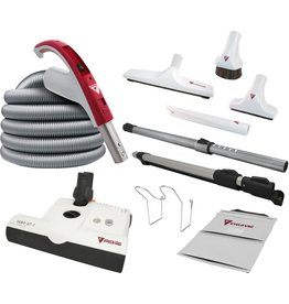 CycloVac CycloVac 35' Accessory Package With SEBO ET-1 Power Brush