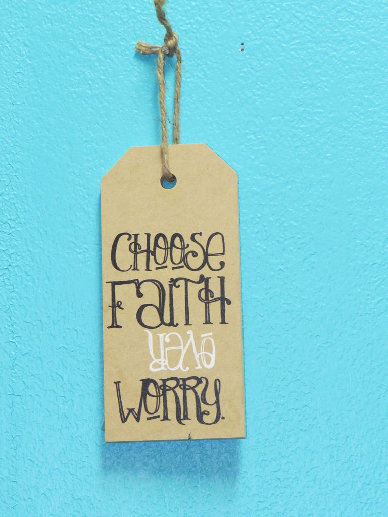 Decor Choose Faith Mini