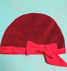 Hat Fleece Beanie w/ Bow