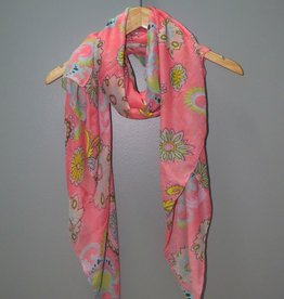 Scarf Spring Floral Scarf