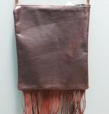 Bag IPad Bag w/ Fringe-Standing Rope