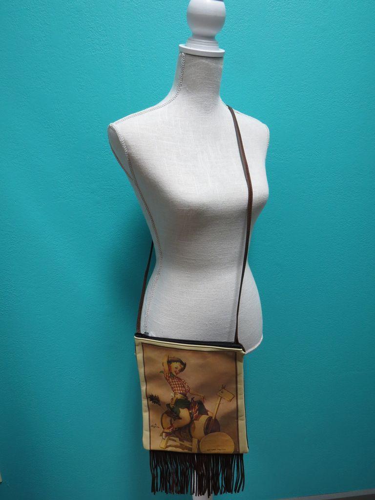 Bag IPad Bag w/ Fringe- Sitting Pretty