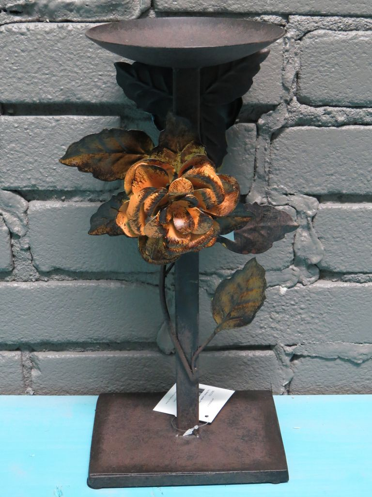 Decor Lg Metal Candle Pillar