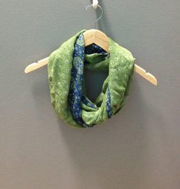 Scarf Blue/Green Bandana Infinity Scarf