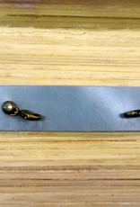 Jewelry Powder Blue Thin Leather Cuff