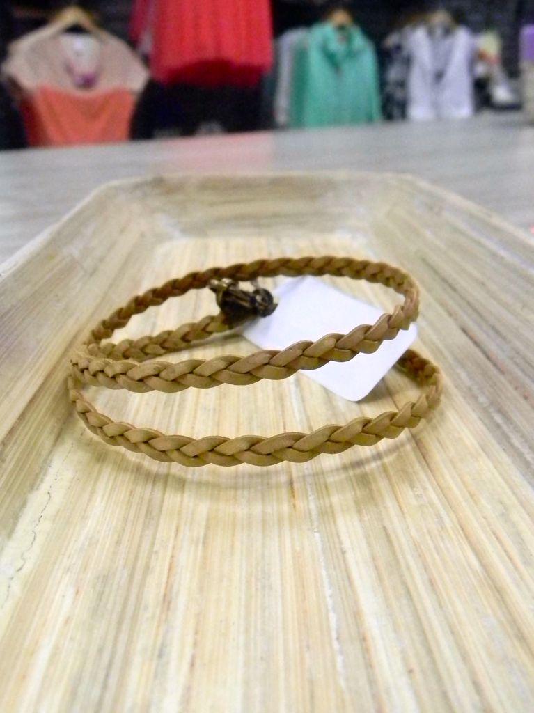 Jewelry Nude Braided Wrap