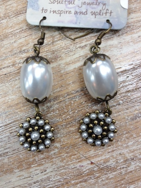 Jewelry Beaded Vintage Earrings