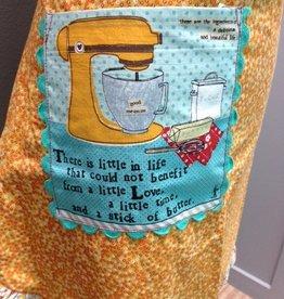 Kitchen Love & Butter Half Apron