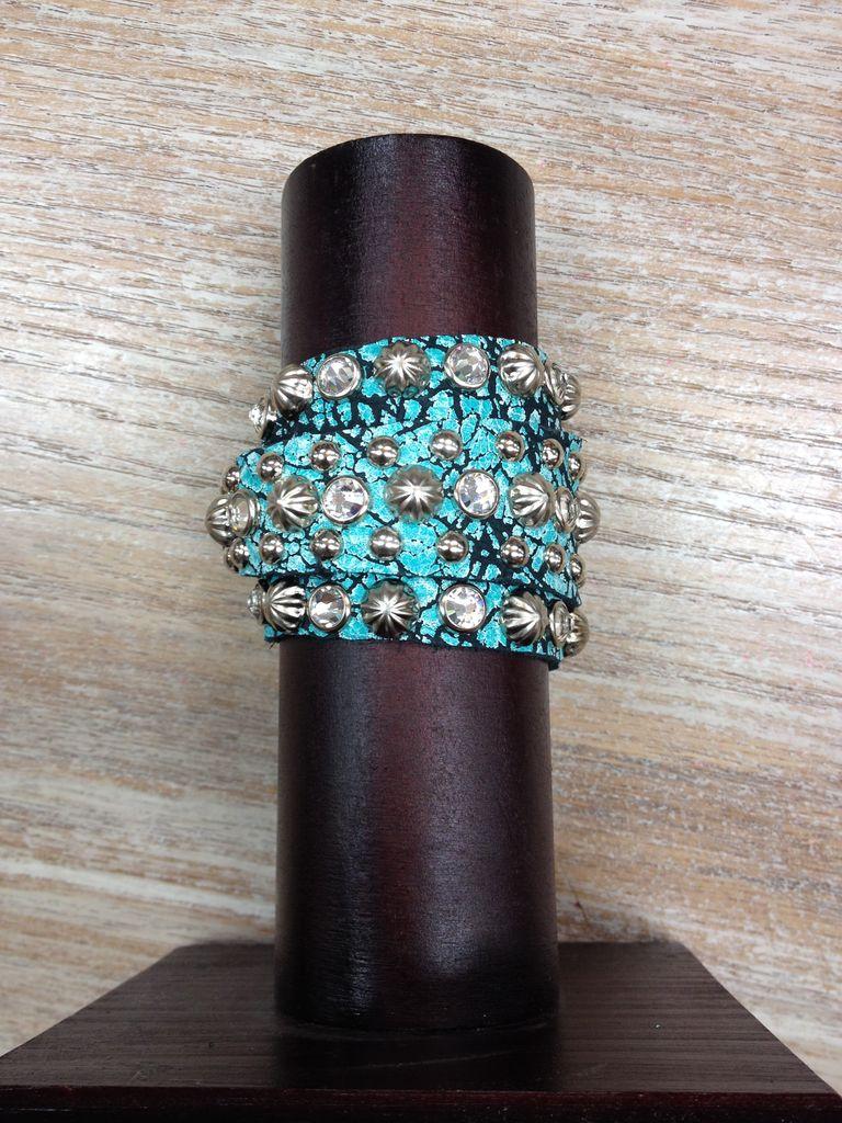 Jewelry Brac/ w/ Rhinestone, Wrap Cuff