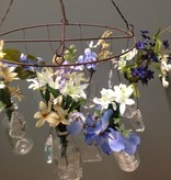 Decor Hanging Wire w/ Glass/Crystal