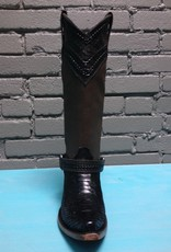 Boot Taupe/Black Python Boot
