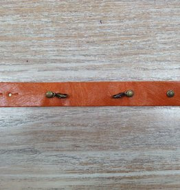 Jewelry Mango Thin Leather Cuff