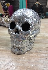 Decor Shimmering Skull