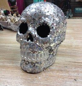 Decor Shimmering Skull
