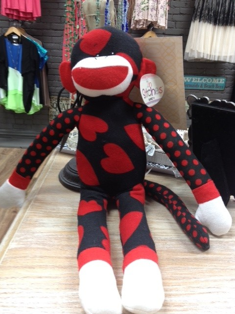Kid's Red Sock Monkey
