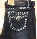 Kid's Kids Stitched Bling Jeans