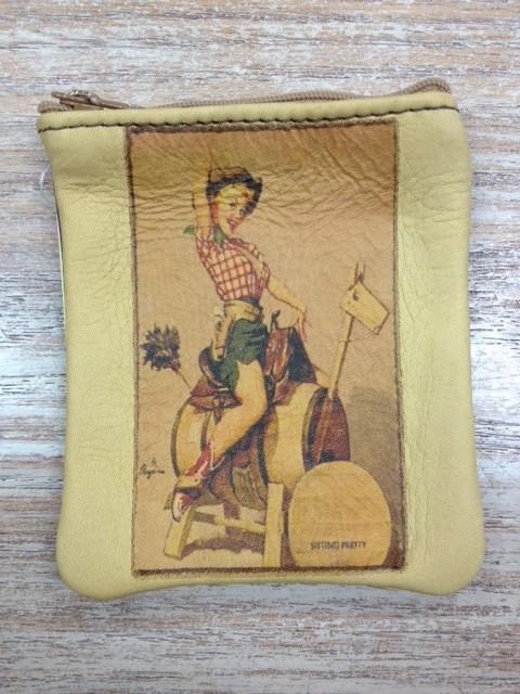 Bag Coin Purse-Barrel Horse