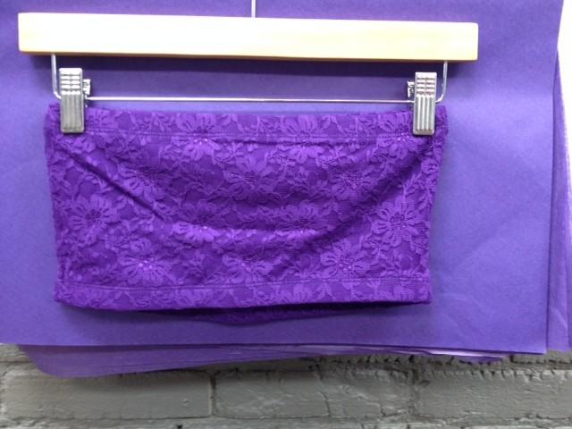 Lingerie Lace Bandeau, Purple