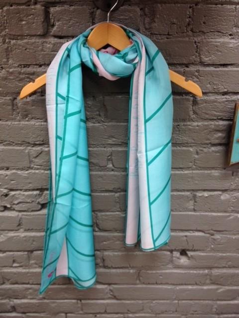 Scarf 100% Silk Scarf- B.3