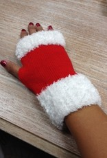 Gloves Santa Fingerless Gloves