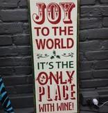 Decor Joy to the World Sign