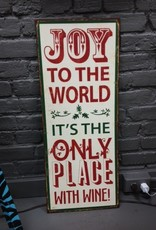 Decor Joy to the World Sign
