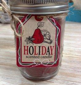 Candle Mason Jar Scented Candle