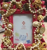 Decor Pink w/ Gold/Pearl Frame