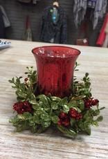 Candle Mistletoe Candle Holder