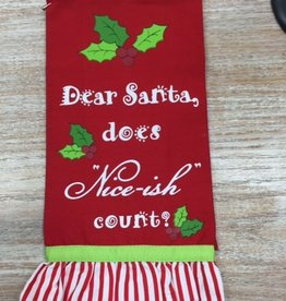 Accessory Christmas Guest Towel