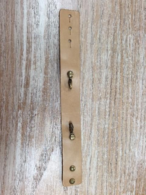 Jewelry Sand Thin Leather Cuff