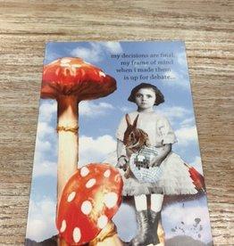 Card Disco Bunny