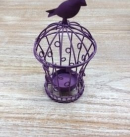 Decor Bird Cage Tea Light Holder