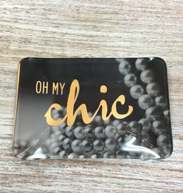 Decor Oh My Chic Trinket Tray
