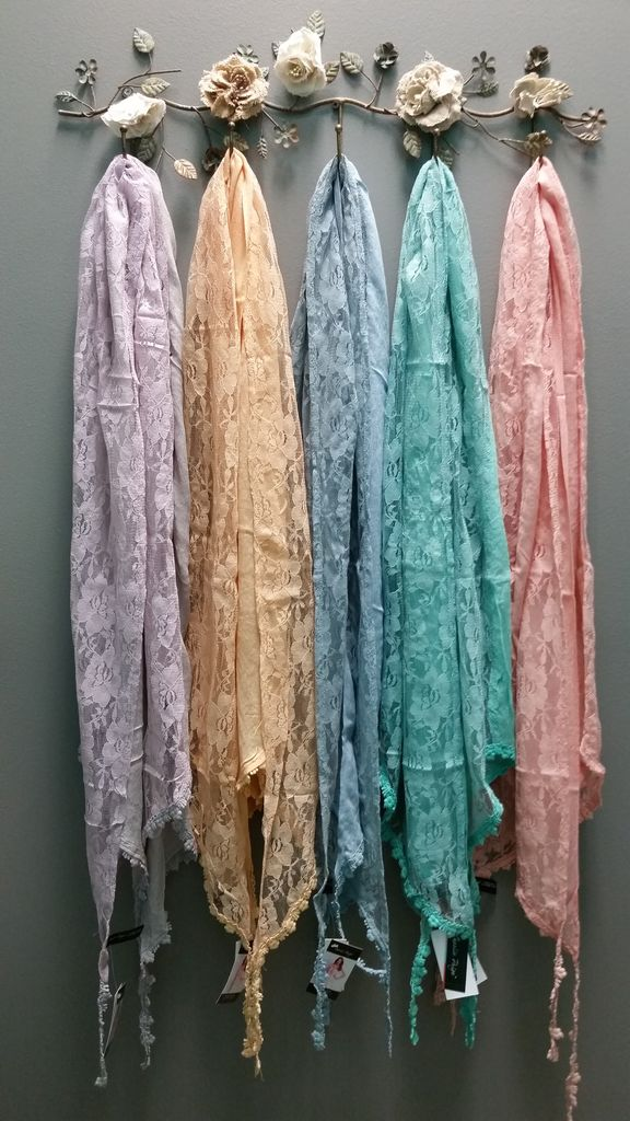 Scarf Lace Overlay Scarf